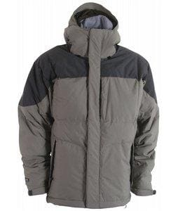 Overstock - Mens Bonfire Fusion Strobe Pewter Ski Jacket - $94.99