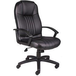 Boss High Back Leather Executive Chair