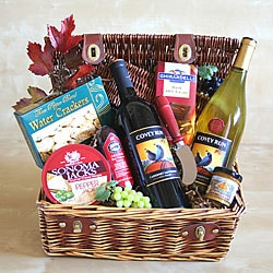Winery Greetings Gift Basket.