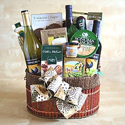 Wine Cellar Surprise Gift Basket.