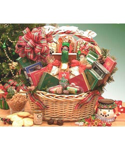Medium Holiday Celebrations Christmas Basket.