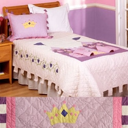 Lil Princess Patchwork Quilt Set