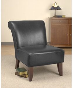 Garland Black Leather Chair.