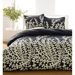 Branches Black Duvet Set