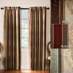 Thermal Backed Tuscan Blackout 52-inch Curtain Panel Pair