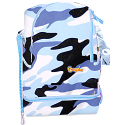 Keep Your Cool Cooler Bag in Camo Blue.