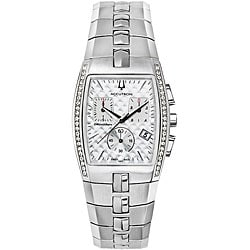Accutron by Bulova Men's Chronograph Diamond Watch.