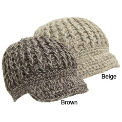 Crochet Pattern: City Hat with Brim