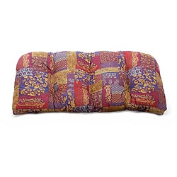 Nisha Indoor Wicker Settee Cushion