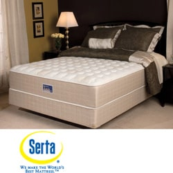 Serta Cromwell Firm Queen-size Mattress Set