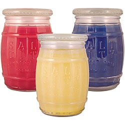 Salt City Candle Americana 12-ounce Candle Gift Set (Pack of 3).