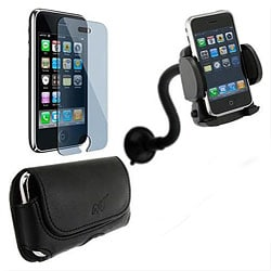 4-in-1 Accessory Bundle for ATT Apple iPhone 3G