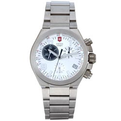 Swiss Army Men's Convoy Chronograph Titanium Watch.