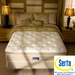 Serta Bristol Way Pillowtop Queen-size Mattress Set
