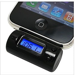 All-channel FM Transmitter with iPod/ iPhone Car Charger