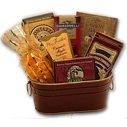 Sweet Sensations Gourmet Gift Basket.