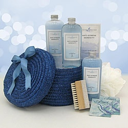 Anti-stress Spa Gift Basket.