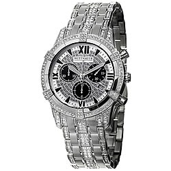 Wittnauer Men's Crystal Steel Chronograph Watch.