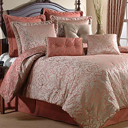 Sophia Cinnamon Luxury 4-piece Comforter Set