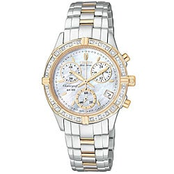 Citizen Women's Eco-Drive Miramar Sport Diamond Watch.