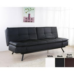 Zentro Leather Convertible Sofa