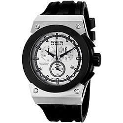 Invicta Men's Akula Chronograph Black Rubber Watch.