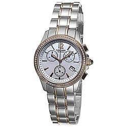 Golana Swiss Women's 'Aura Pro 100' Two-tone Steel Watch.