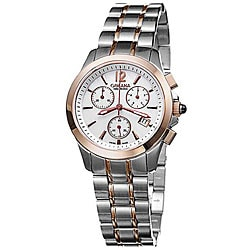 Golana Swiss Women's 'Aura Pro 200' Two-tone Steel Watch.