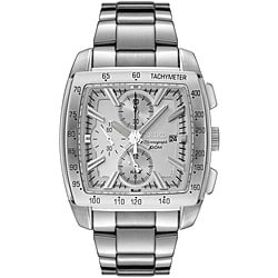 Seiko Men's 'Motor Sports' Stainless Steel Chronograph Watch.