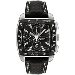 Seiko Men's 'Motor Sports' Chronograph Nylon Watch.