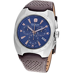 Swiss Military Hanowa Men's Blue Challenger Chronograph Watch.