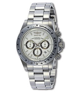 Invicta Speedway S Men's Steel Chrono Watch.