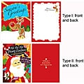 Voice Recorder 12-second Christmas Card (Pack of 5)